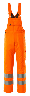 00592-880-14 Salopette grand froid - Hi-vis orange
