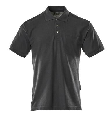 00783-260-010 Polo avec poche poitrine - Marine foncé
