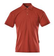 00783-260-02 Polo avec poche poitrine - Rouge