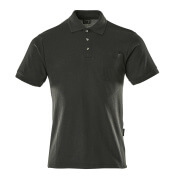00783-260-09 Polo avec poche poitrine - Noir
