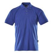 00783-260-11 Polo avec poche poitrine - Bleu roi