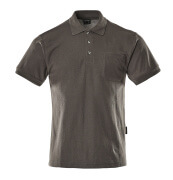 00783-260-18 Polo avec poche poitrine - Anthracite foncé
