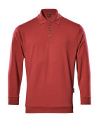 00785-280-02 Sweatshirt polo - Rouge