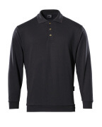 00785-280-09 Sweatshirt polo - Noir