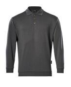 00785-280-18 Sweatshirt polo - Anthracite foncé