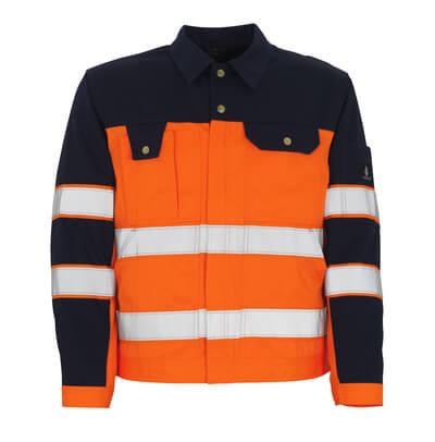 00909-860-141 Veste - Hi-vis orange/Marine