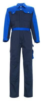 00919-430-111 Combinaison avec poches genouillères - Marine/Bleu roi