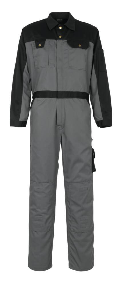 00919-430-8889 Combinaison avec poches genouillères - Anthracite/Noir