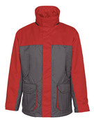 00930-650-88802 Parka - Anthracite/Rouge
