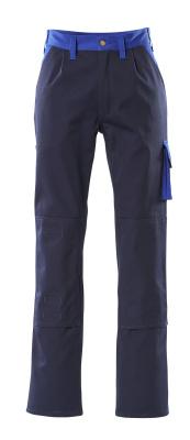 00955-630-111 Pantalon avec poches genouillères - Marine/Bleu roi