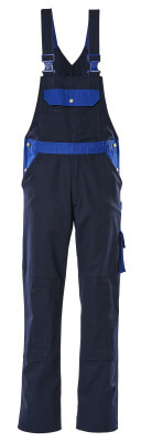 00962-630-111 Salopette avec poches genouillères - Marine/Bleu roi