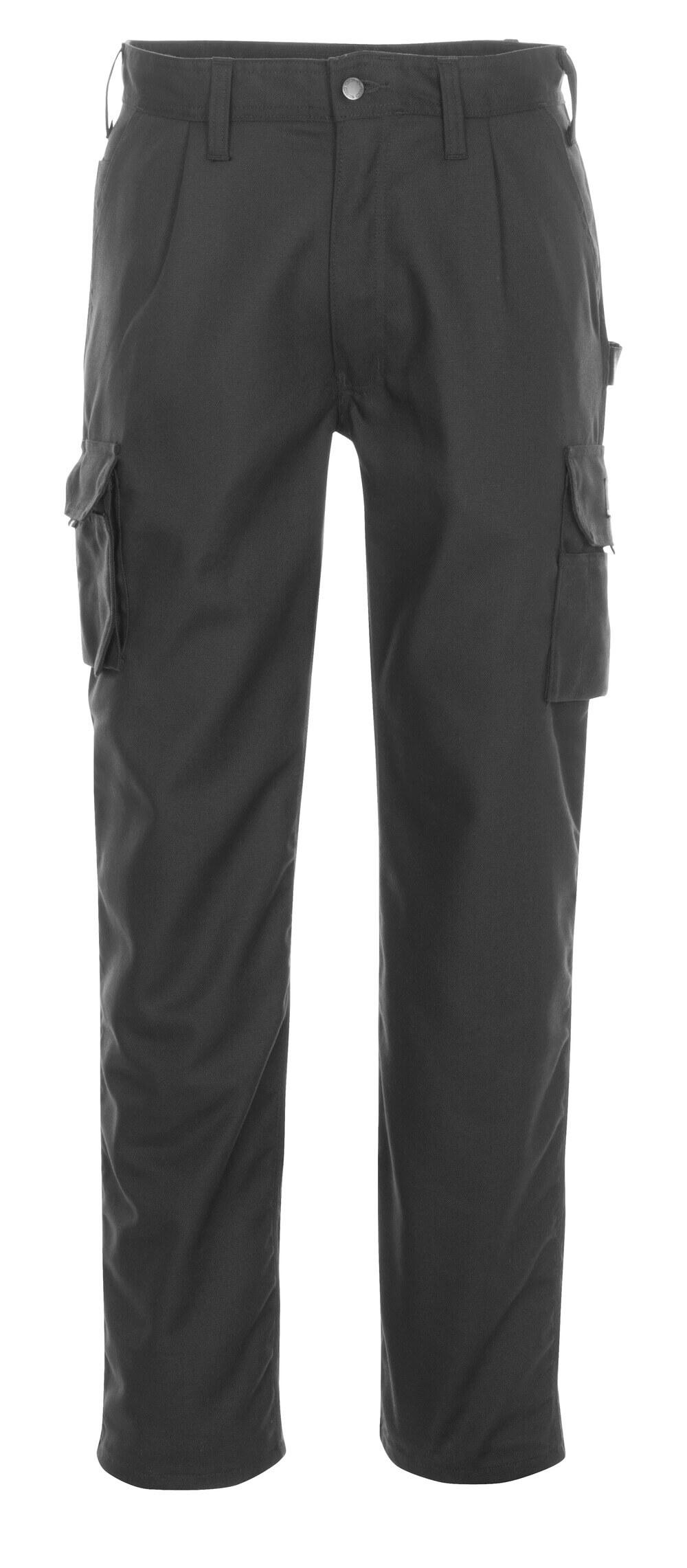 03079-010-09 Pantalon avec poches cuisse - Noir