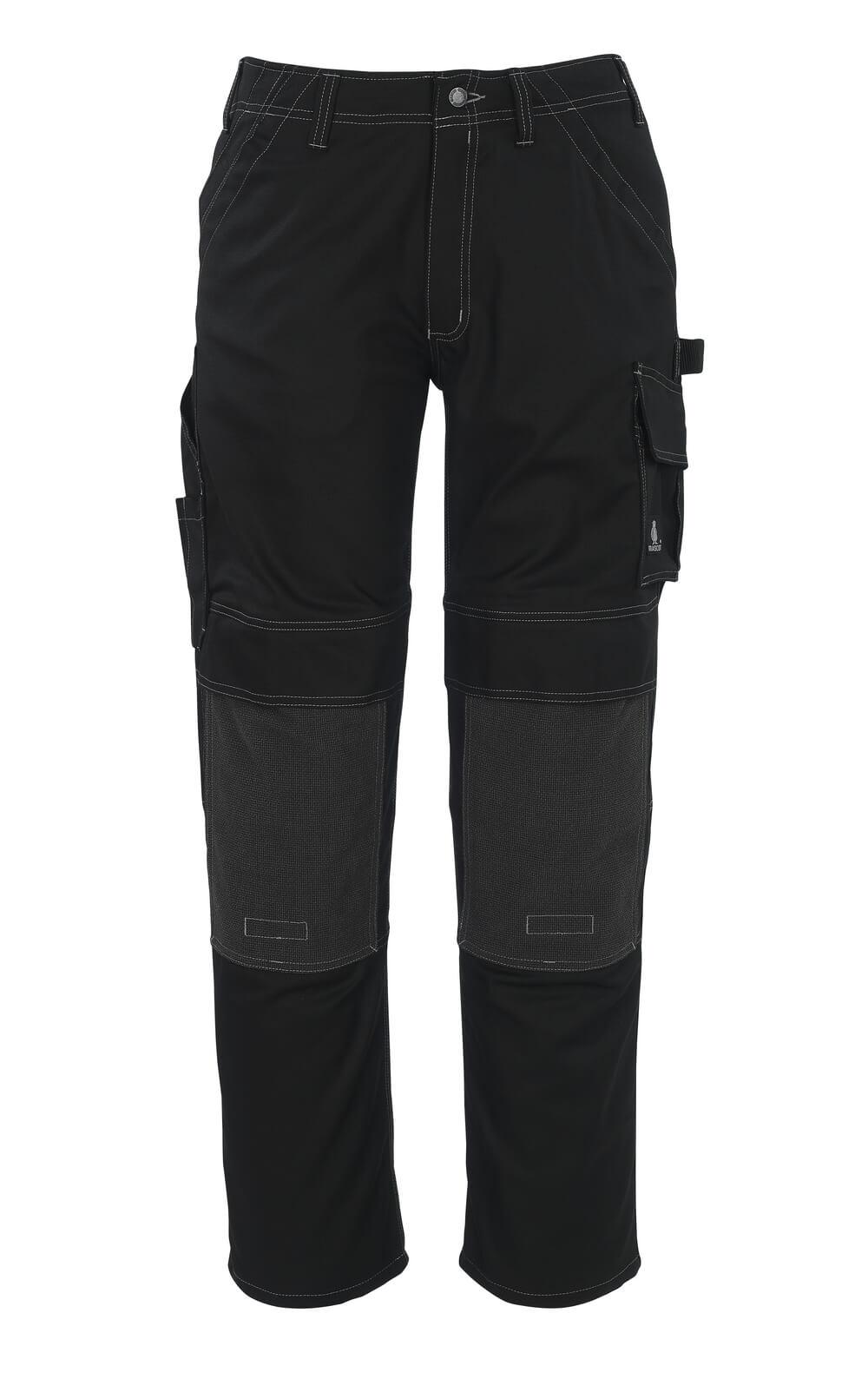 05079-010-09 Pantalon avec poches genouillères - Noir