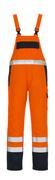05192-064-141 Salopette - Hi-vis orange/Marine