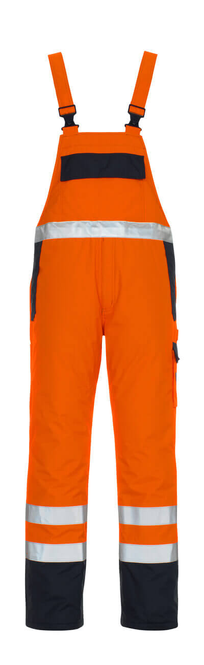 05192-064-141 Salopette - Hi-vis orange/Marine
