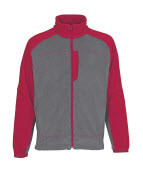 06042-137-88802 Veste polaire - Anthracite/Rouge