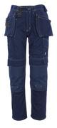 06131-630-01 Pantalon avec poches flottantes - Marine