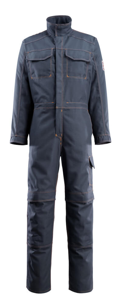 06619-135-010 Combinaison avec poches genouillères - Marine foncé