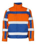 07109-860-1411 Veste - Hi-vis orange/Bleu roi