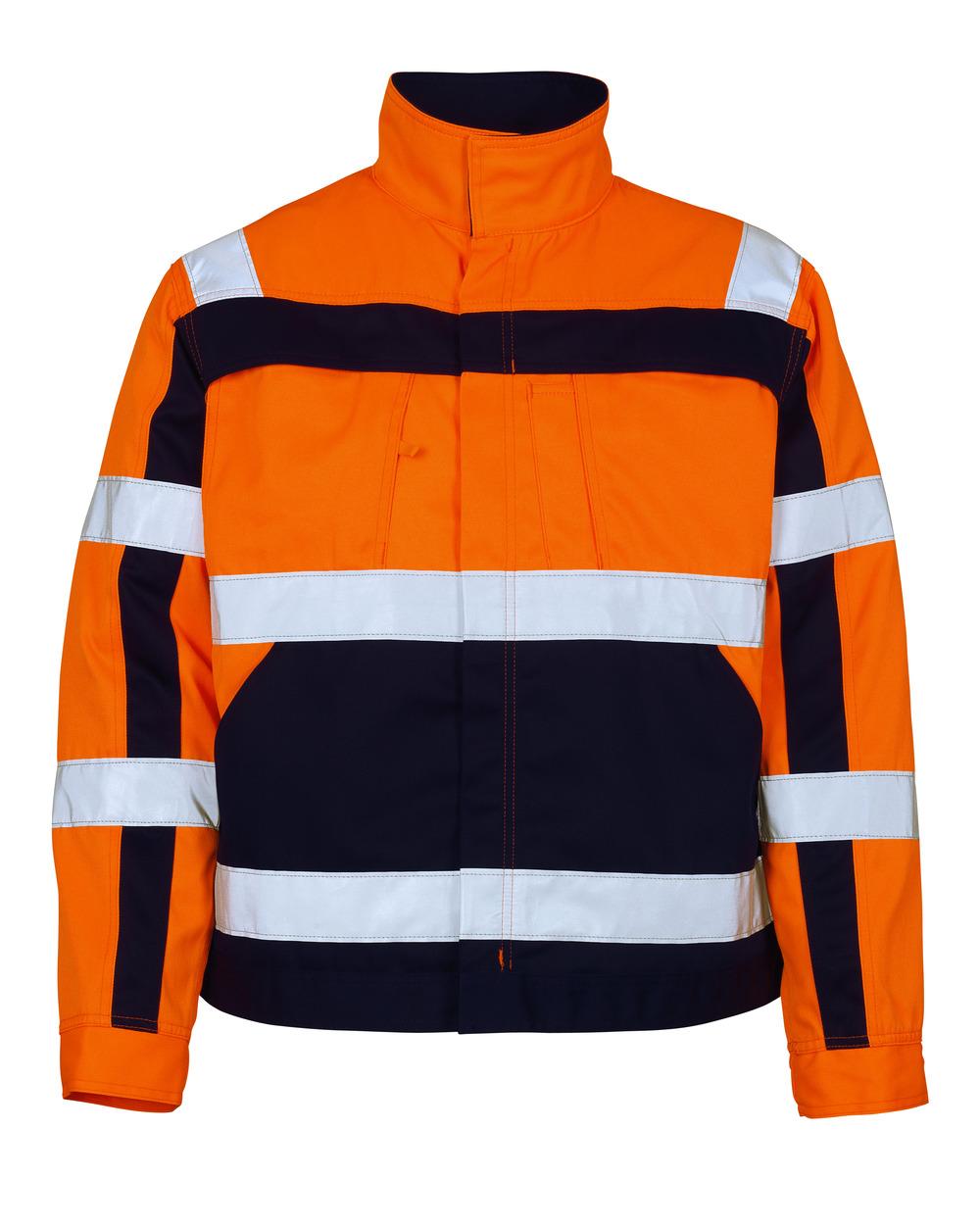07109-860-141 Veste - Hi-vis orange/Marine