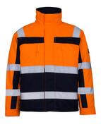 07123-126-141 Veste pilote - Hi-vis orange/Marine