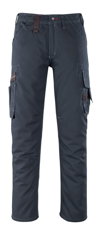 07279-154-010 Pantalon avec poches cuisse - Marine foncé