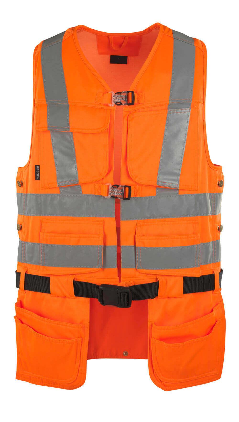 08089-860-14 Gilet porte-outils - Hi-vis orange