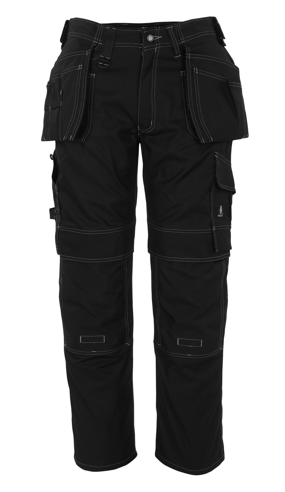 08131-010-09 Pantalon avec poches genouillères et poches flottantes - Noir