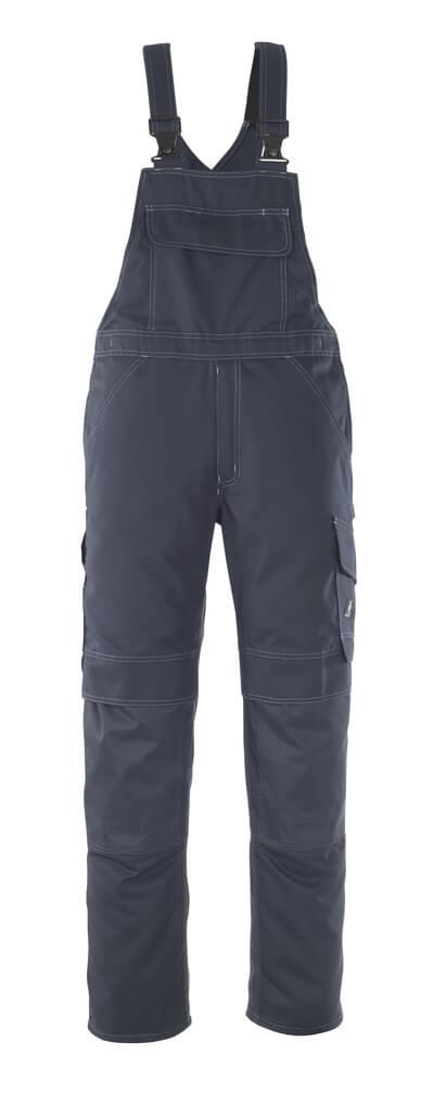 10169-154-010 Salopette avec poches genouillères - Marine foncé
