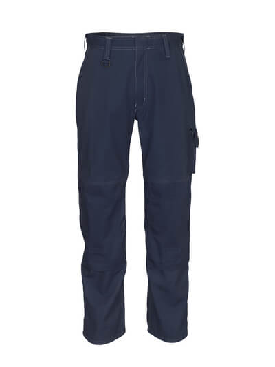 10579-442-010 Pantalon avec poches genouillères - Marine foncé