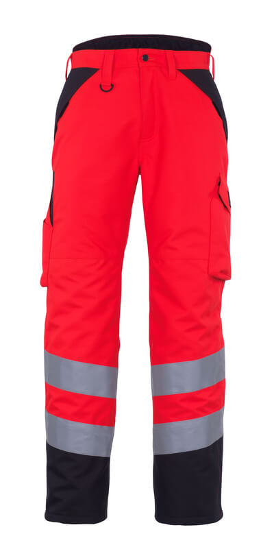 11090-025-A49 Pantalon grand froid - Hi-vis rouge/Anthracite foncé
