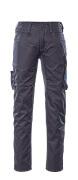 12579-442-01011 Pantalon avec poches cuisse - Marine foncé/Bleu roi