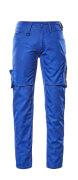 12579-442-11010 Pantalon avec poches cuisse - Bleu roi/Marine foncé