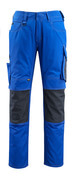 12679-442-11010 Pantalon avec poches genouillères - Bleu roi/Marine foncé
