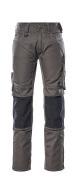 12679-442-1809 Pantalon avec poches genouillères - Anthracite foncé/Noir