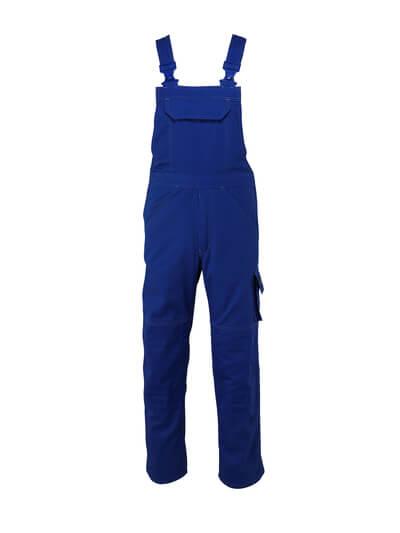 13169-430-11 Salopette avec poches genouillères - Bleu roi
