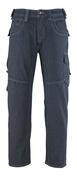 13379-207-B52 Jeans avec poches cuisse - Bleu denim