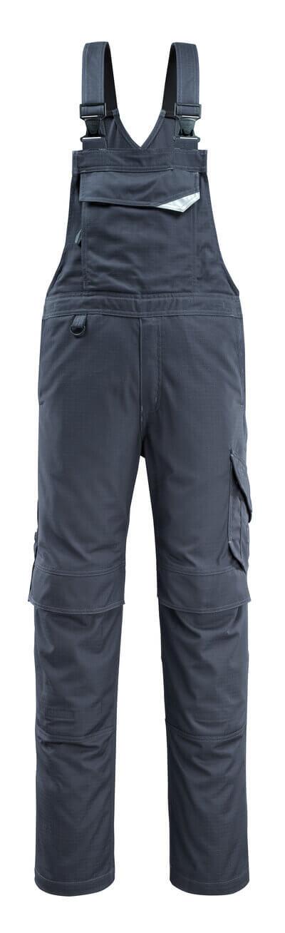13669-216-010 Salopette avec poches genouillères - Marine foncé