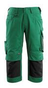 14149-442-0309 Pantacourt avec poches gensouillères - Vert bouteille/Noir