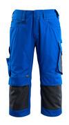 14149-442-11010 Pantacourt avec poches gensouillères - Bleu roi/Marine foncé