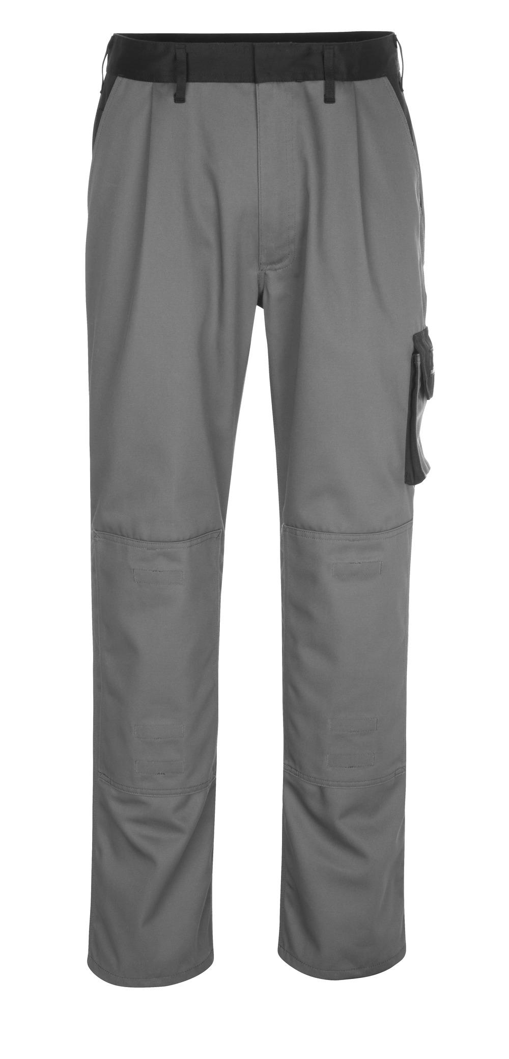 14179-442-8889 Pantalon avec poches genouillères - Anthracite/Noir