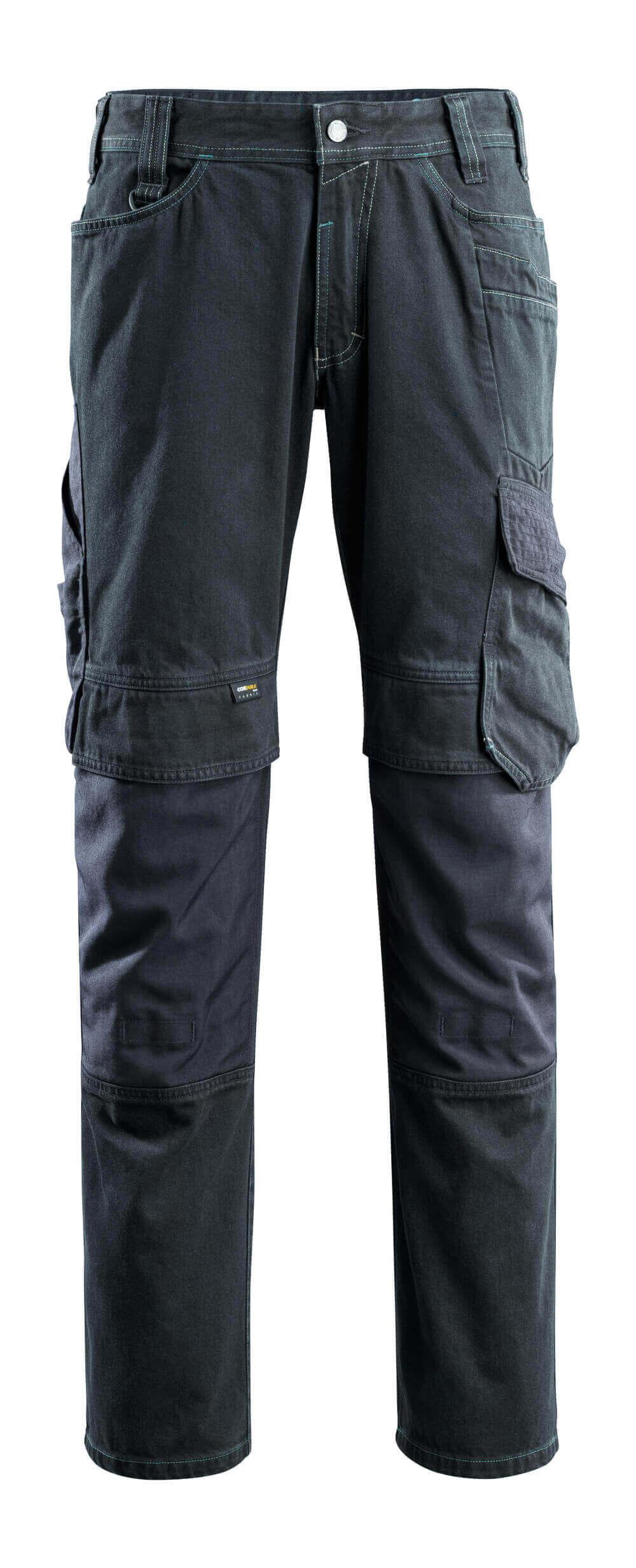 15179-207-86 Jeans avec poches gensouillères - Denim bleu foncé