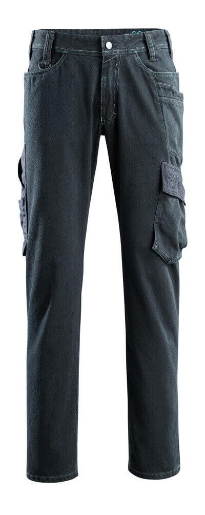 15279-207-86 Jeans avec poches cuisse - Denim bleu foncé