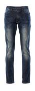 15379-869-66 Jeans - Denim bleu foncé délavé