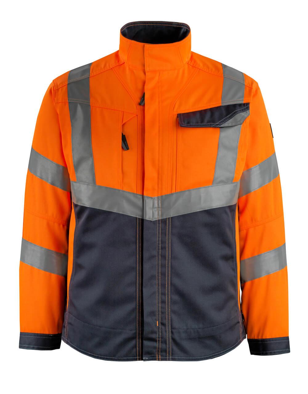 15509-860-14010 Veste - Hi-vis orange/Marine foncé