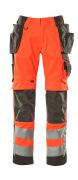 15531-860-14010 Pantalon avec poches flottantes - Hi-vis orange/Marine foncé