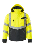 15535-231-14010 Veste grand froid - Hi-vis orange/Marine foncé