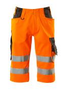 15549-860-1418 Pantacourt - Hi-vis orange/Anthracite foncé