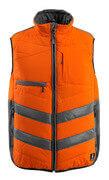 15565-249-1418 Gilet grand froid - Hi-vis orange/Anthracite foncé