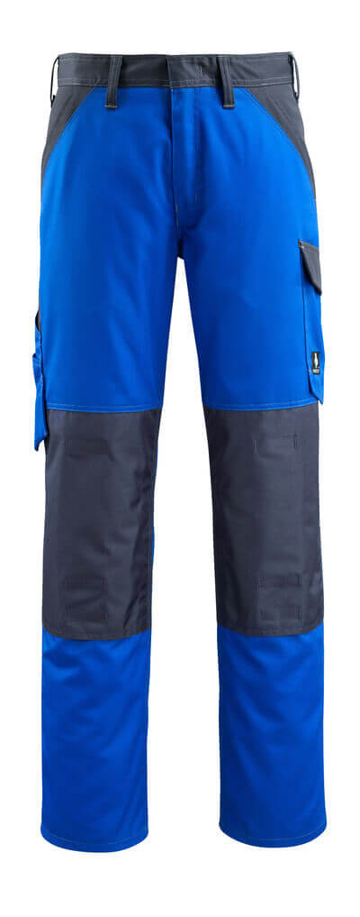 15779-330-11010 Pantalon avec poches genouillères - Bleu roi/Marine foncé